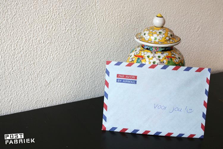 Een berichtje voor je huisgenoot kan ook met aandacht op een mooi papiertje!