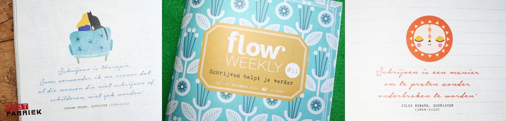 Details Flow Weekly 11-2014 'Schrijven helpt je verder'