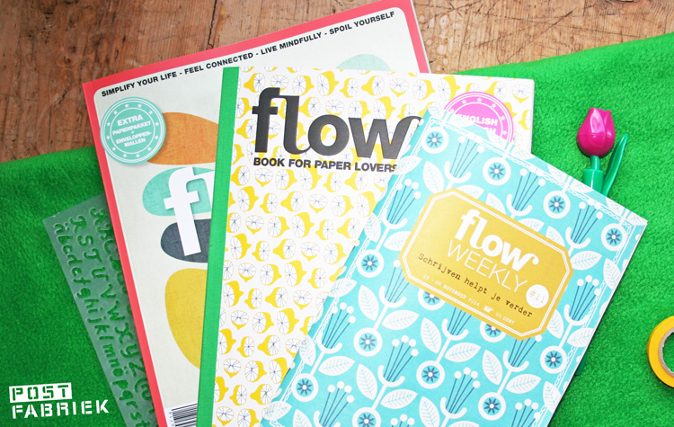 Flow Magazine 7-2014, Flow book for paper lovers tweede editie en Flow Weekly 11-2014