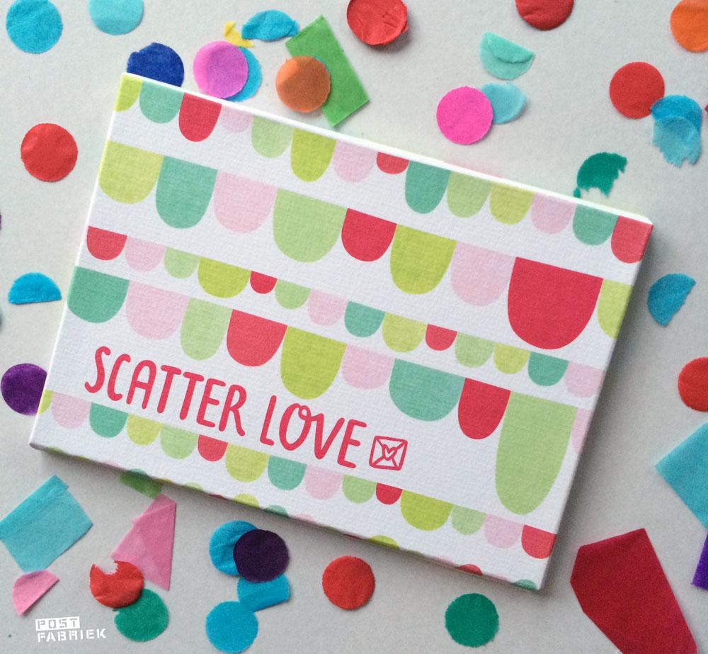 Scatterlove doosje met confetti