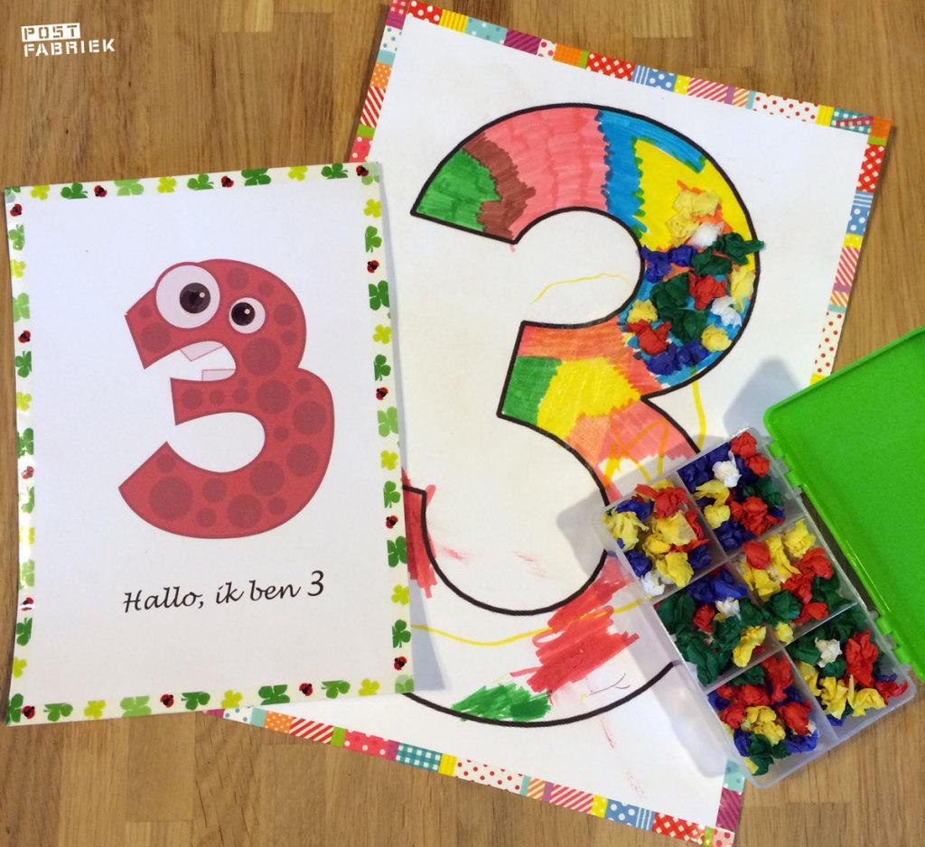 Het cijfer 3