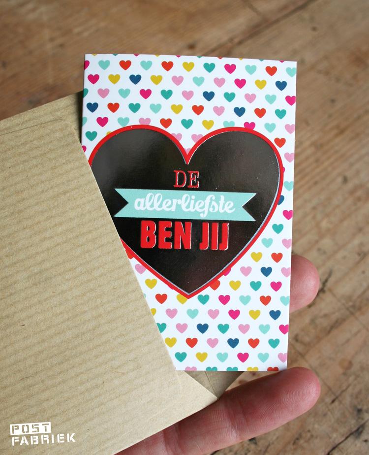 kleine kaartjes van BIRI.