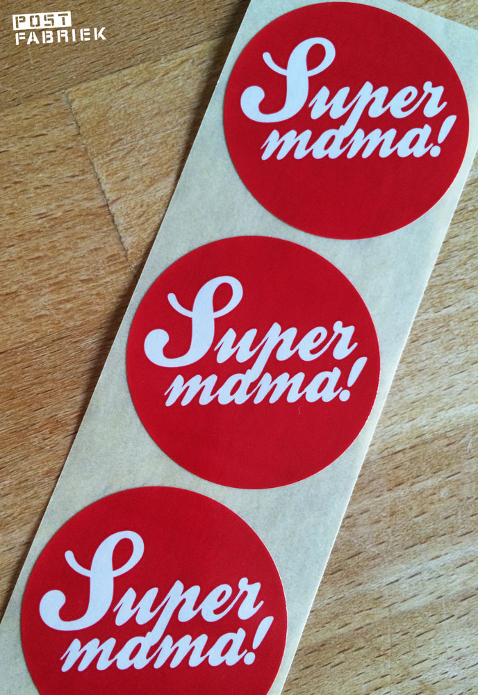 Hoera voor alle supermama's!