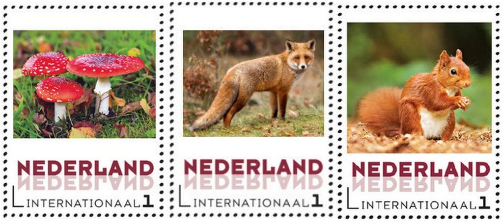 Postzegels van natuurlijkefoto.nl