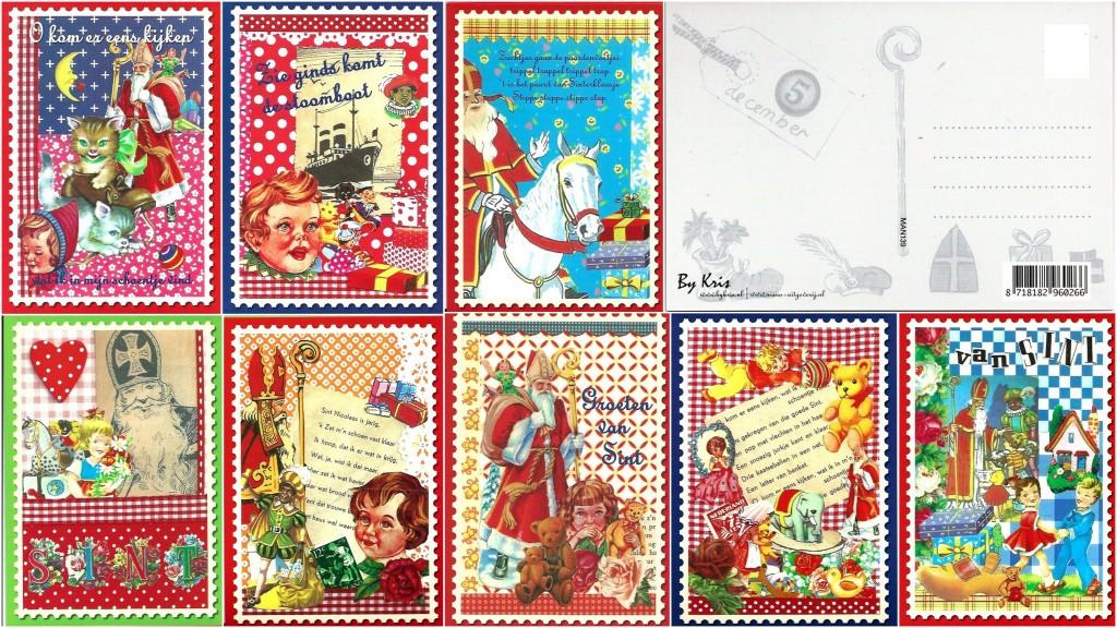 de vrolijke Sintkaarten van ByKris