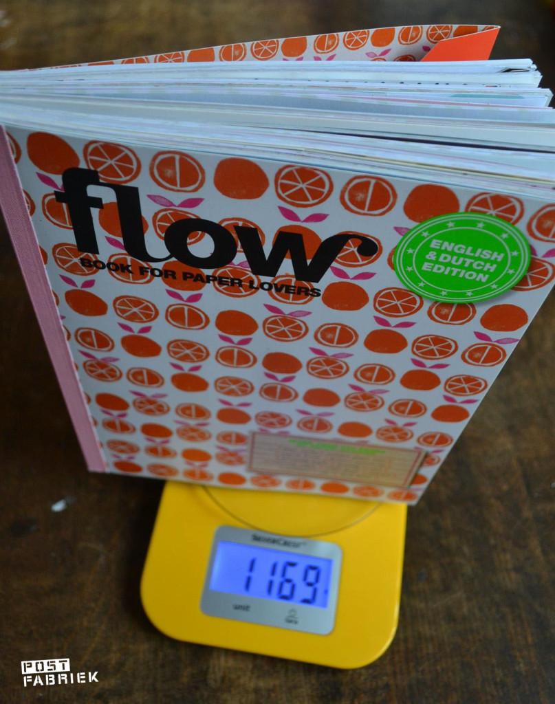 Ruim een kilo aan mooie papiertjes!