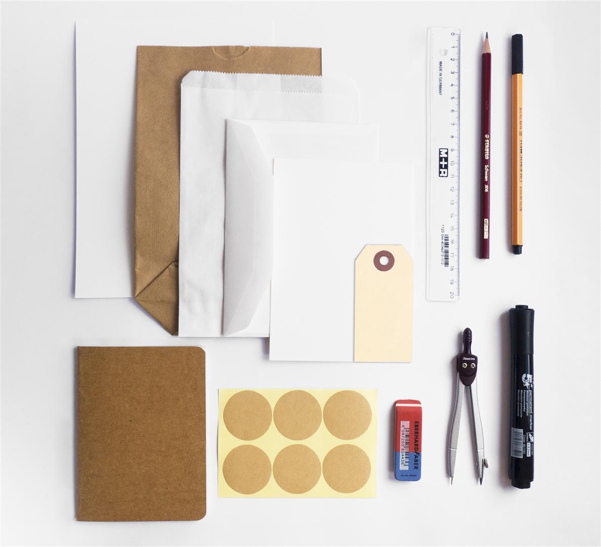 Inhoud van het Handlettering DIY Pakket