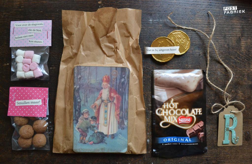 Inhoud Sinterklaaspost