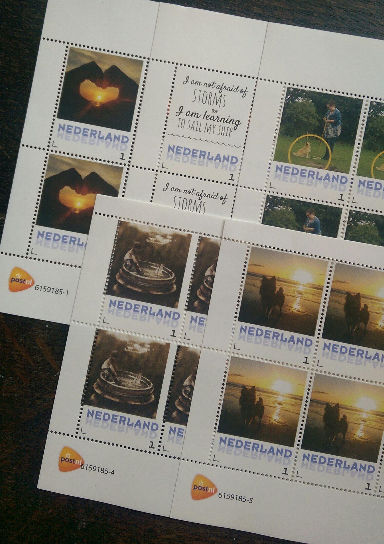 persoonlijke postzegels