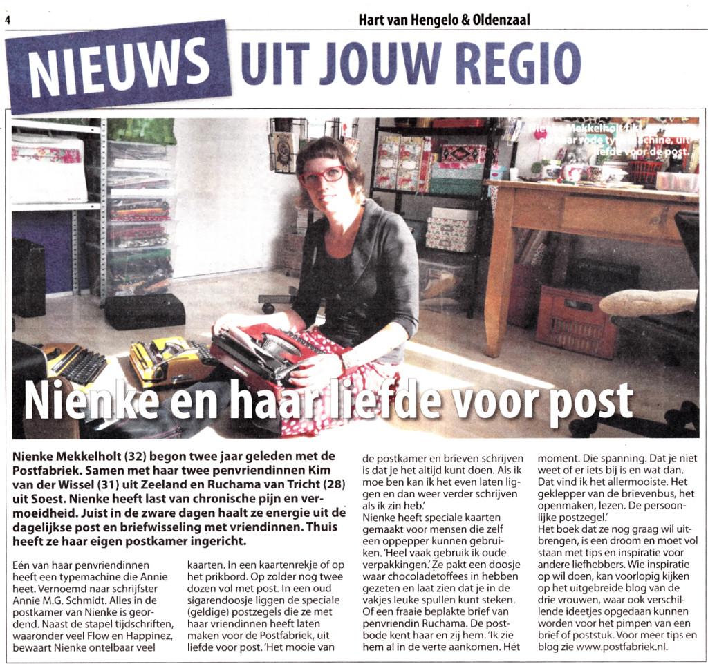 De postfabriek in Hart van Hengelo op donderdag 24 september 2015.