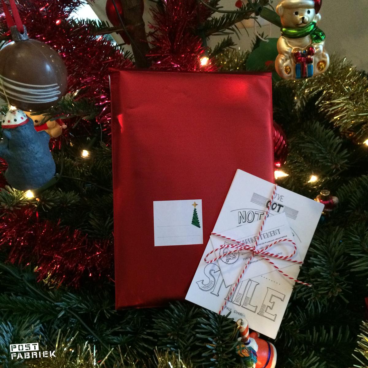 De enveloppe ligt al klaar in afwachting van een winnaar!