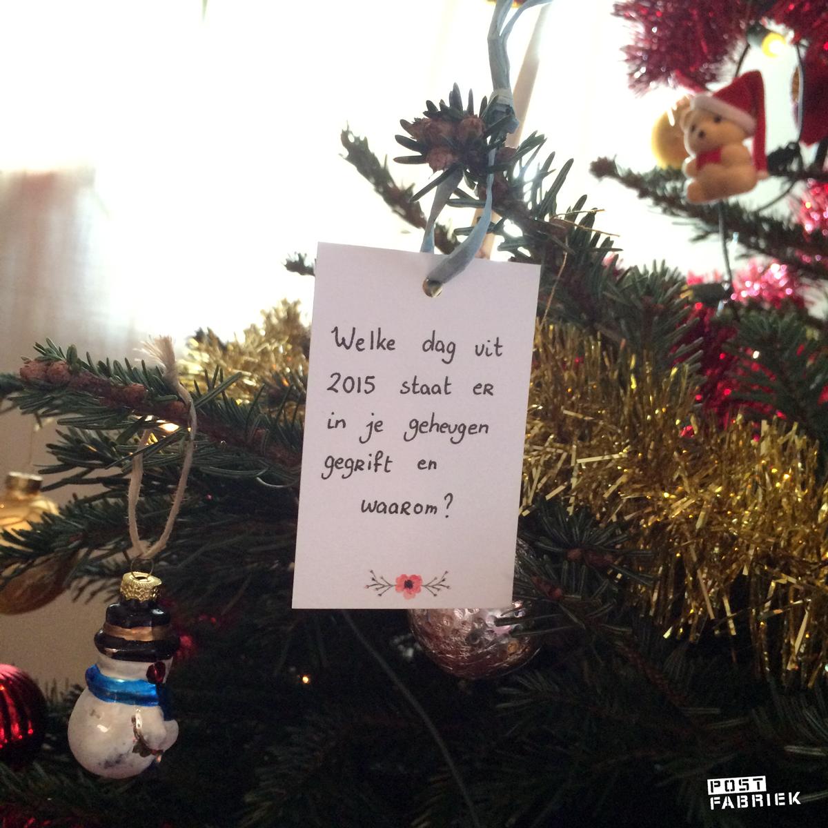 Vraag: welke dag uit 2015 staat er in je geheugen gegrift?