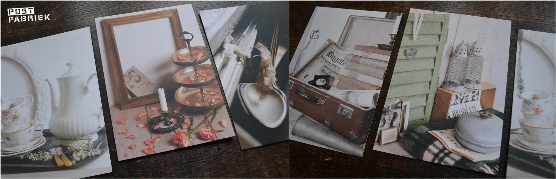 Blanco postkaarten
