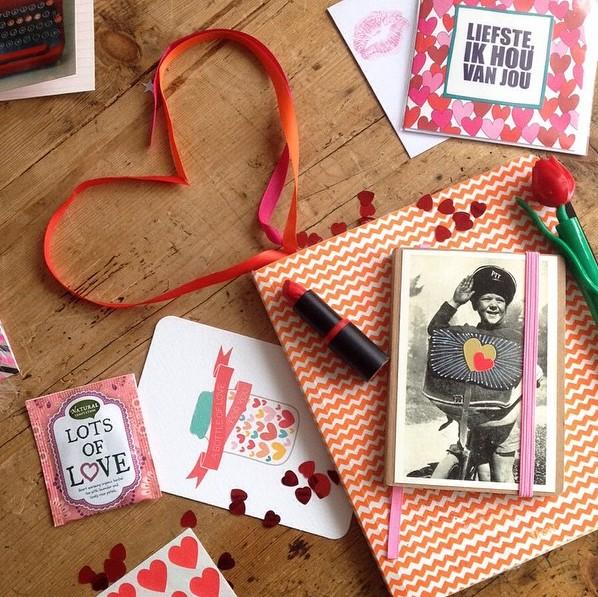 Valentijnspost te maken