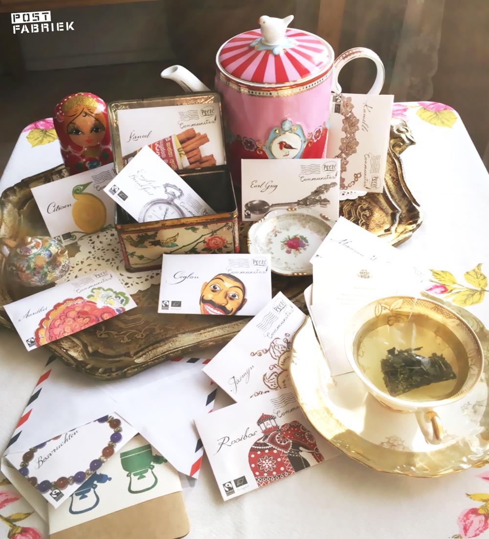 Verschillende theesoorten van Peeze