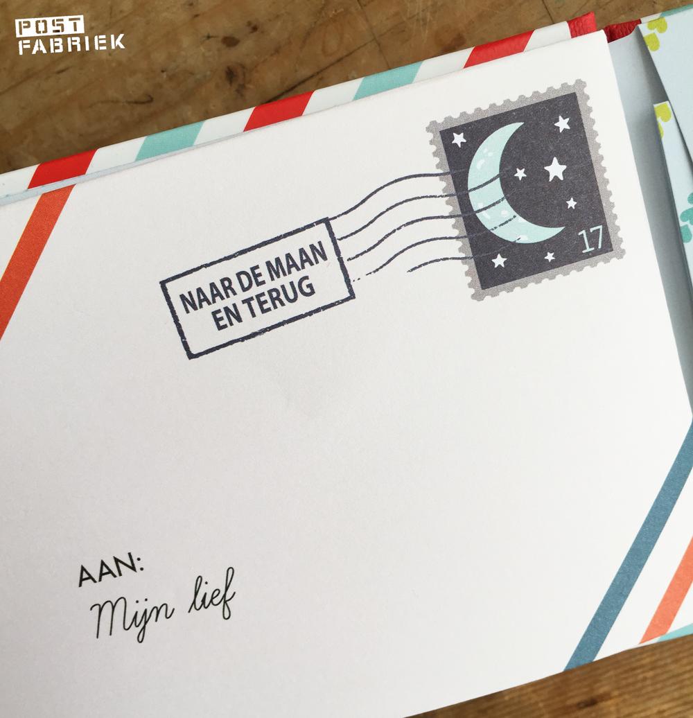 De illustraties op postzegelformaat geven je dat echte postgevoel