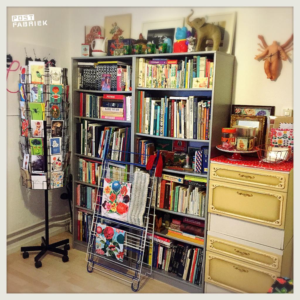 Mijn boekenkast: een kast vol inspiratie.