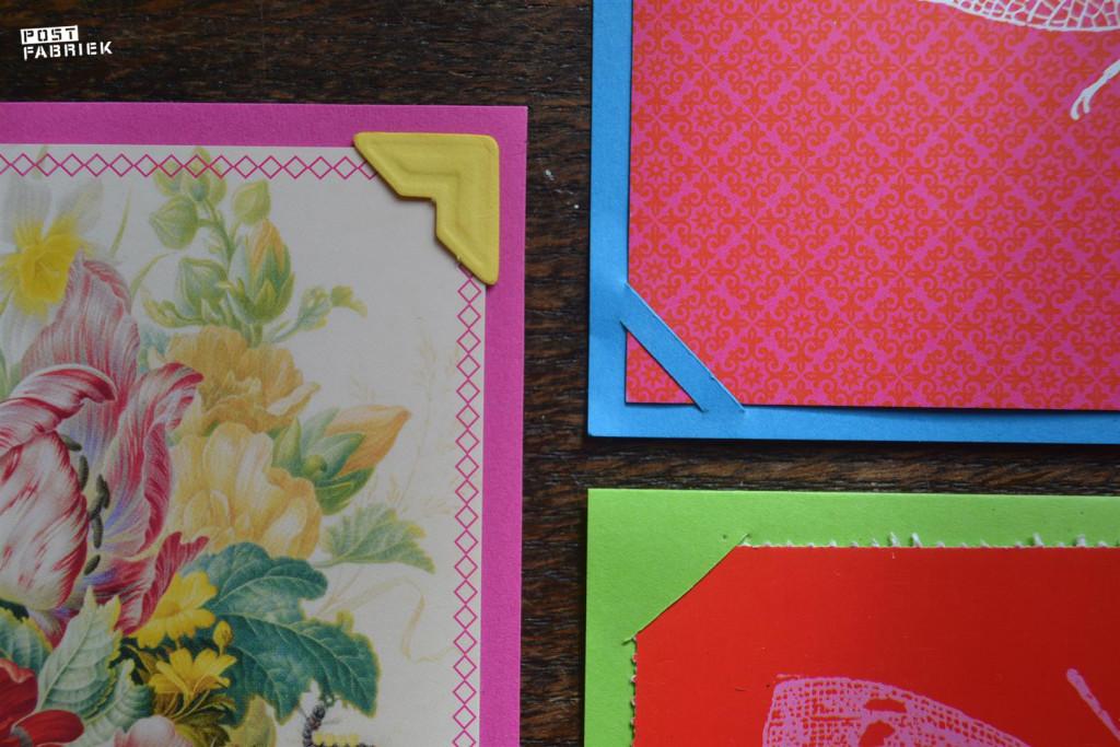 Verschillende hoekjes van kaarten