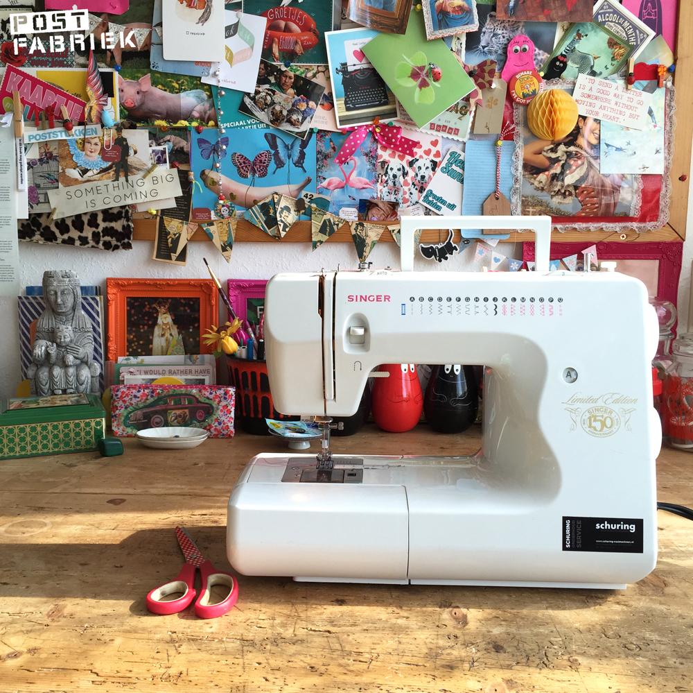 De naaimachine van Nienke: een Singer