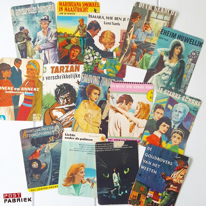 vintage kaarten van Dana