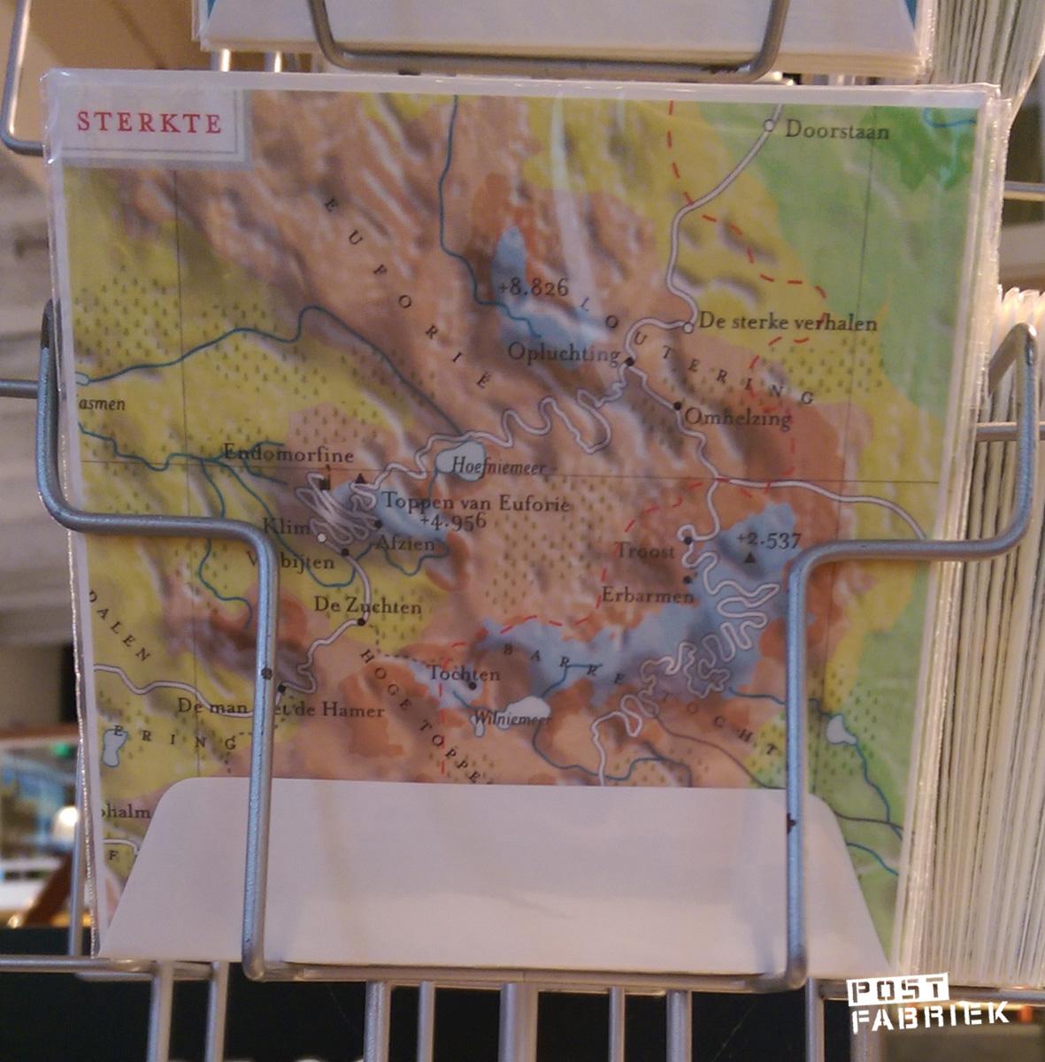'Sterkte' Atlas van de Belevingswereld kaart