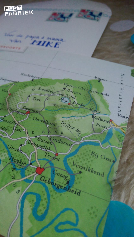 Detail II Geboorte kaart