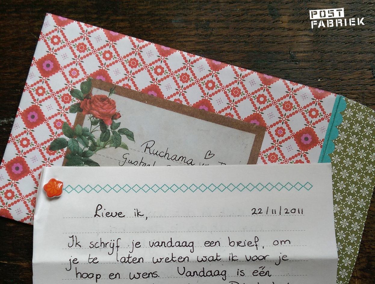Aanhef brief aan jezelf