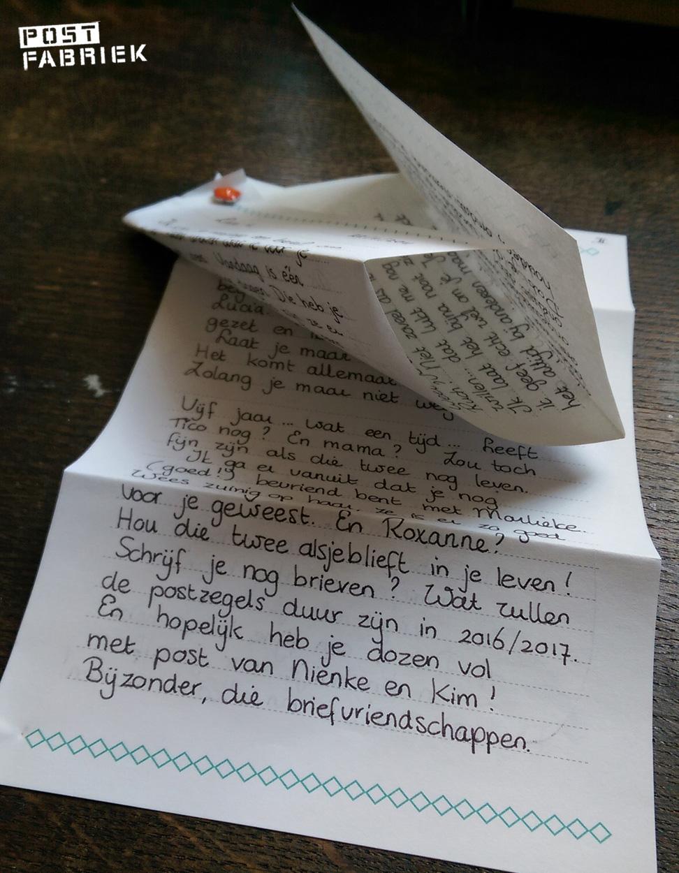 brief aan jezelf terug lezen