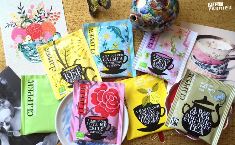 Overzicht bijzondere theezakjes postfabriek for Een doosje vol geluk waar te koop