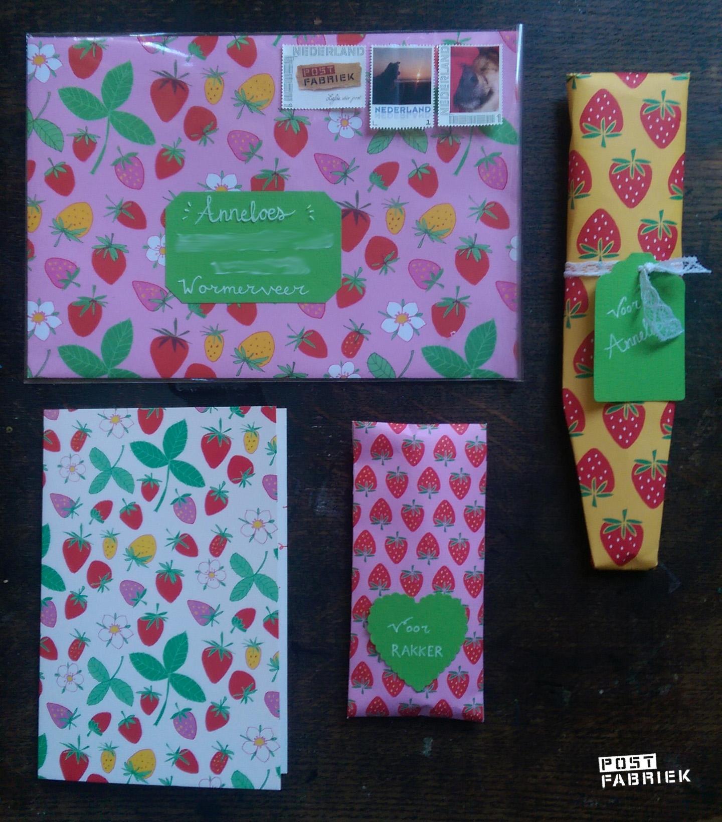 aardbeienpapier