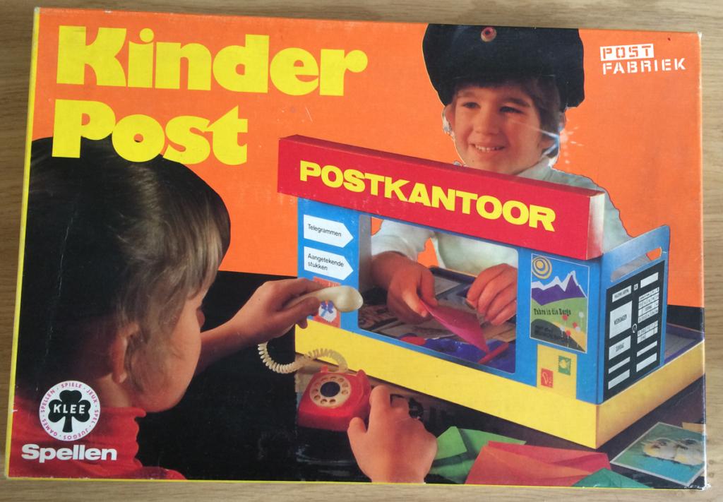 """""""Kinderpost"""", een speelgoed postkantoortje voor kinderen"""