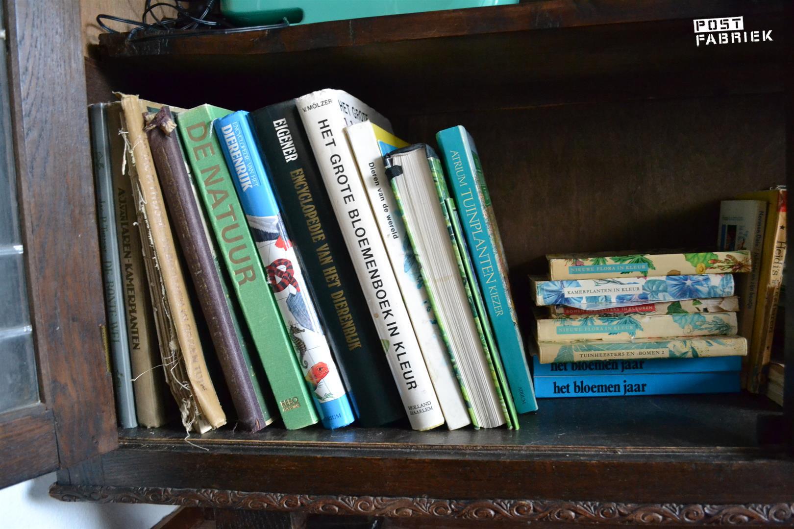Natuurboeken om te verknippen