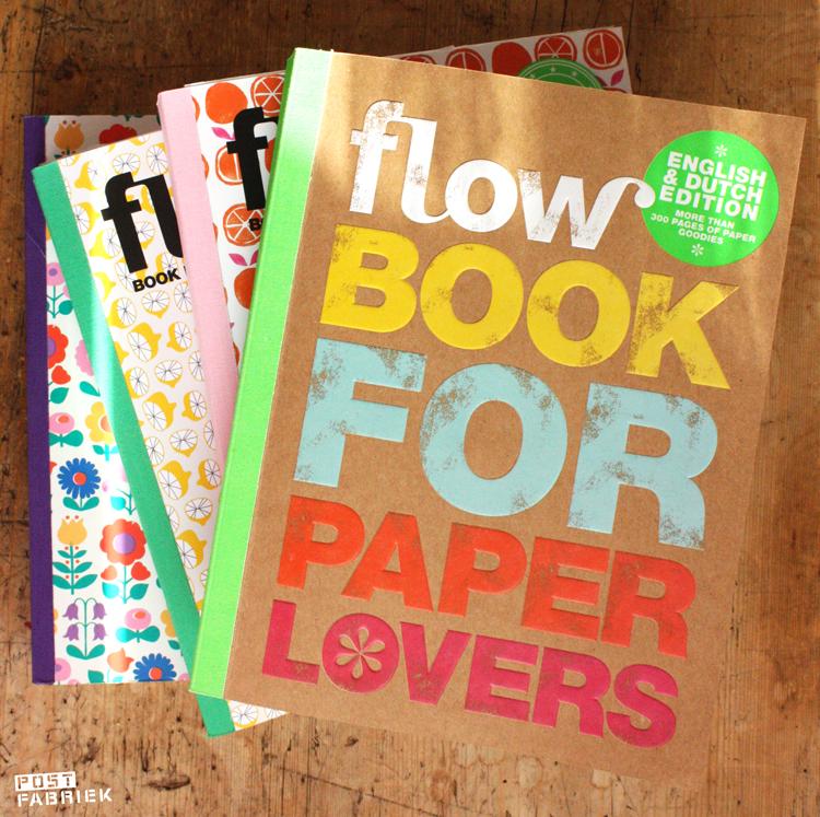 Het nieuwste Flow Book for Paper Lovers ligt in de winkel! Editie nummer vier!
