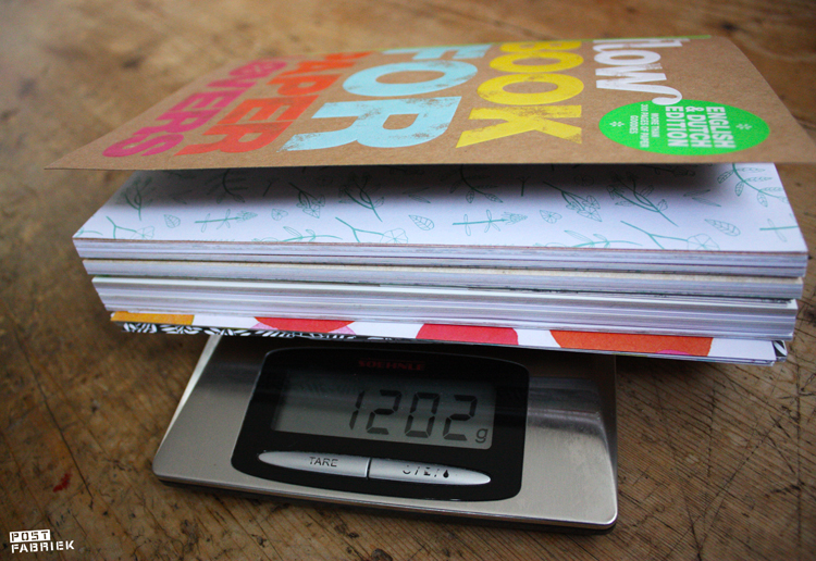 Flow Book for Paper Lovers 4 is 1202 gram aan prachtige papieren goodies!