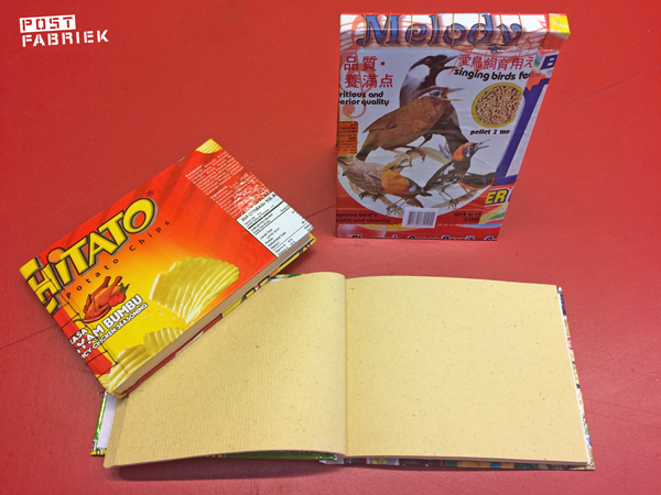 Print de bon en krijg 50% korting op deze fairtrade notitieboeken van Mikster