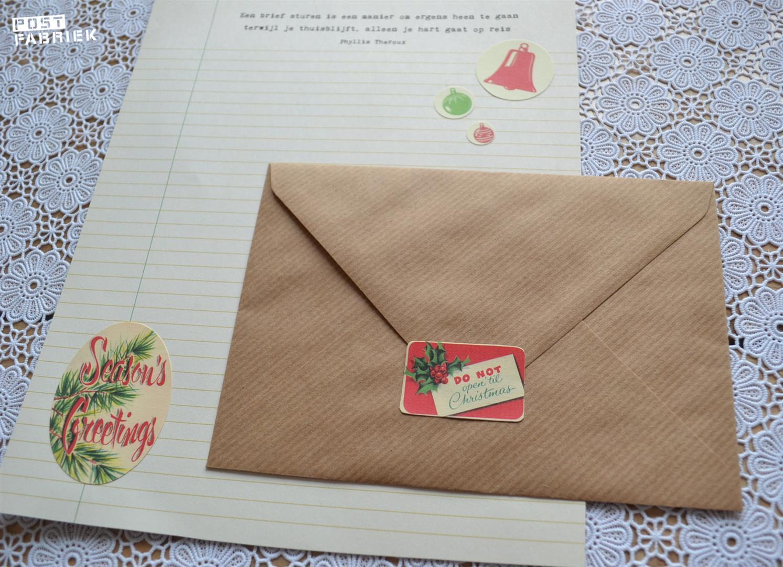 stuur een kerstbrief