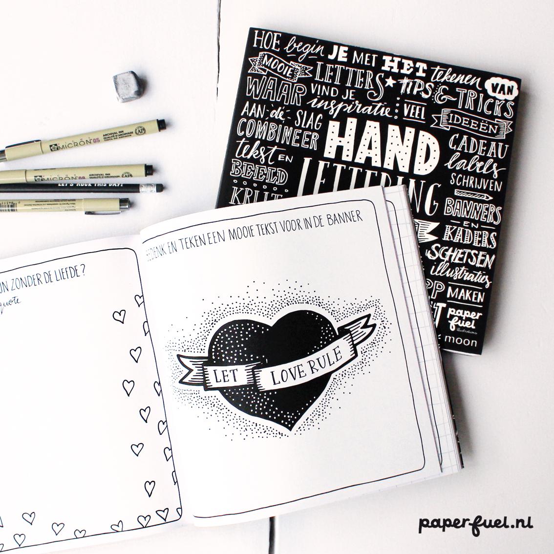 Maak kans op een geweldig Handlettering pakket van Paperfuel