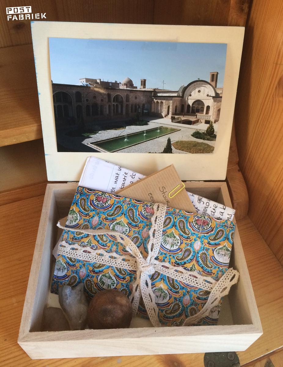 Een reis door Iran in een kistje