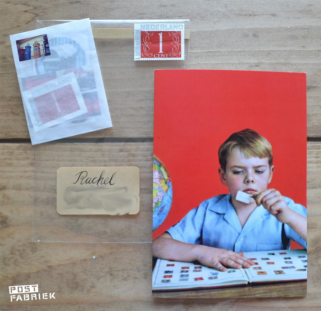 Postzegelpost voor Rachel