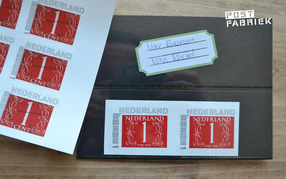 Mooie persoonlijke postzegels