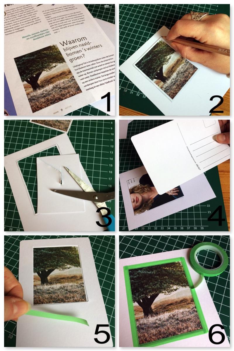 Maak volgens deze stappen een ansichtkaart met venster