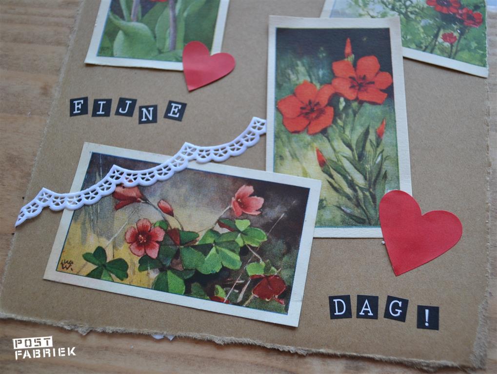 rode bloemenplaatjes