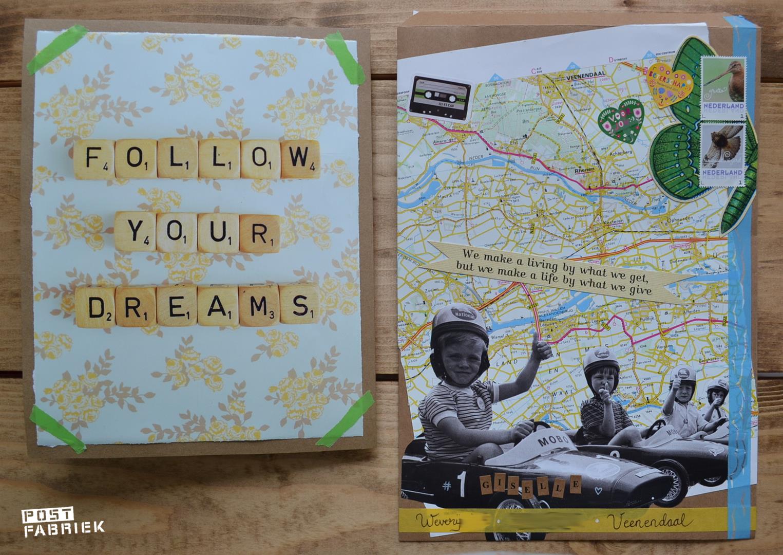 Kaart + envelop