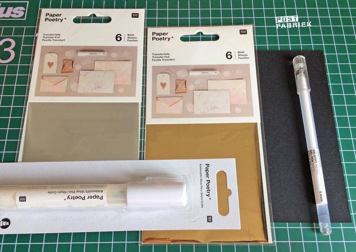 Materialen te koop bij Meerleuks.nl waarmee Kim heeft gewerkt