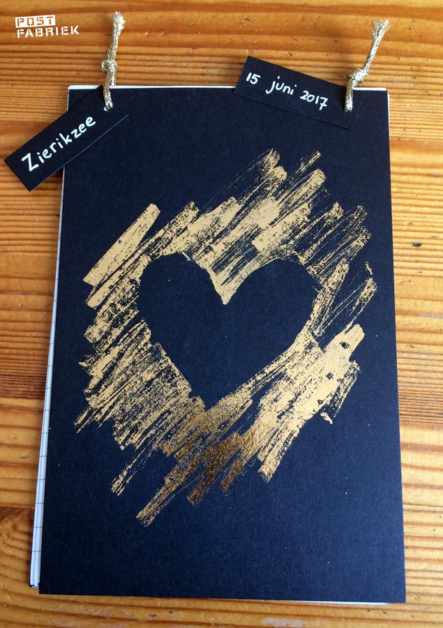 Gouden transferfolie van Paper Poetry