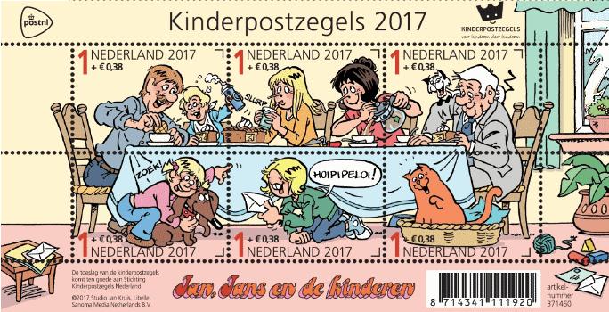 waar hoeft geen postzegel op