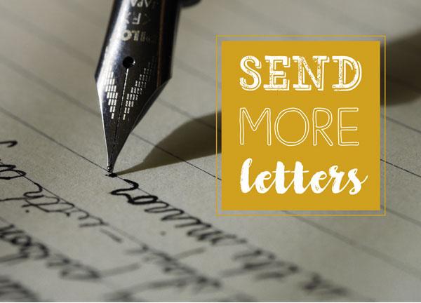 Send more letters, kaart van Cardcetera