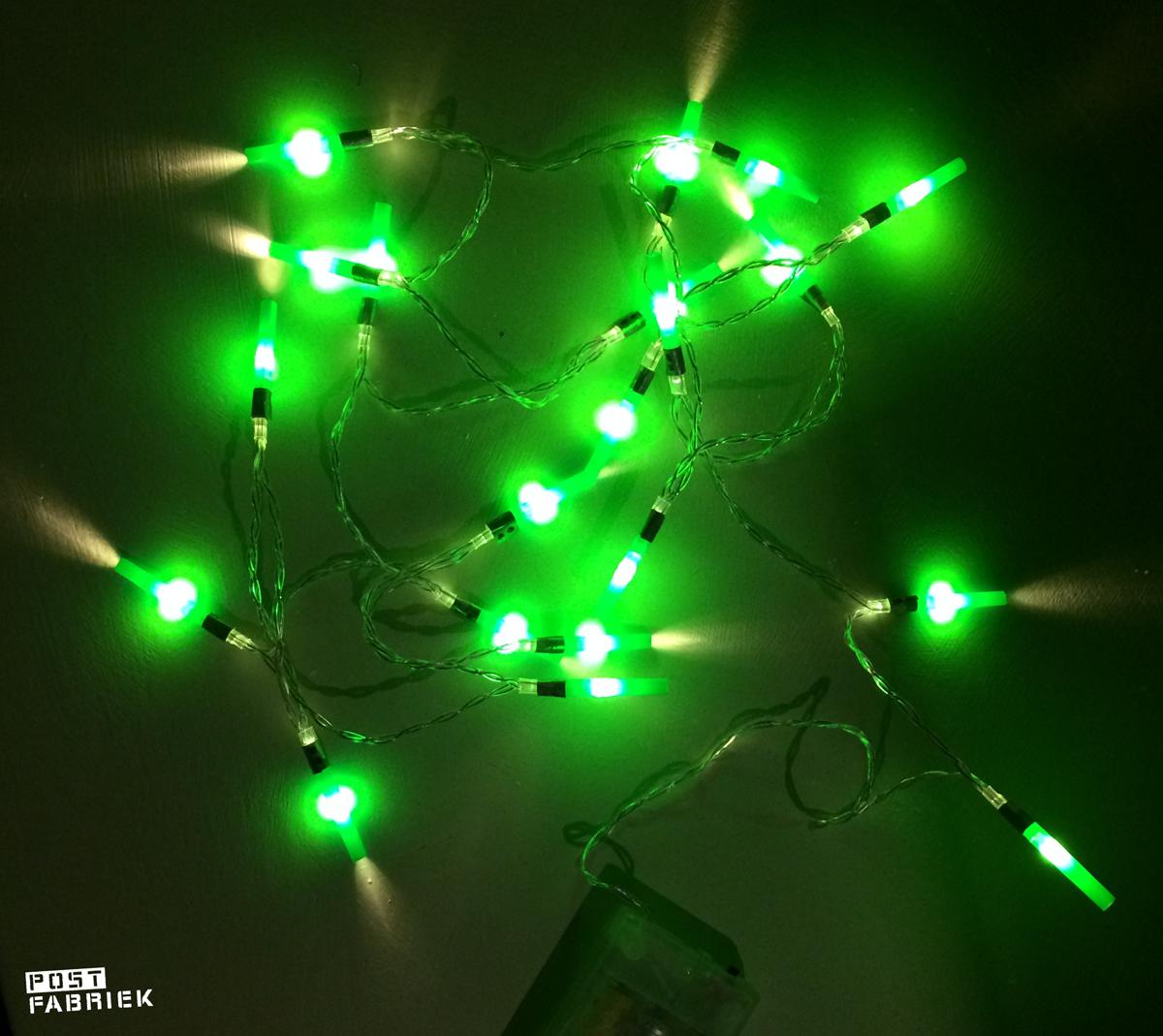 Lightsaber kerstlampjes