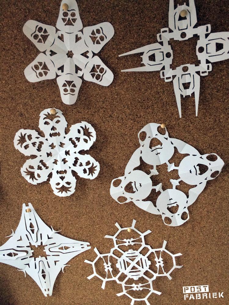 Star Wars sneeuwvlokken