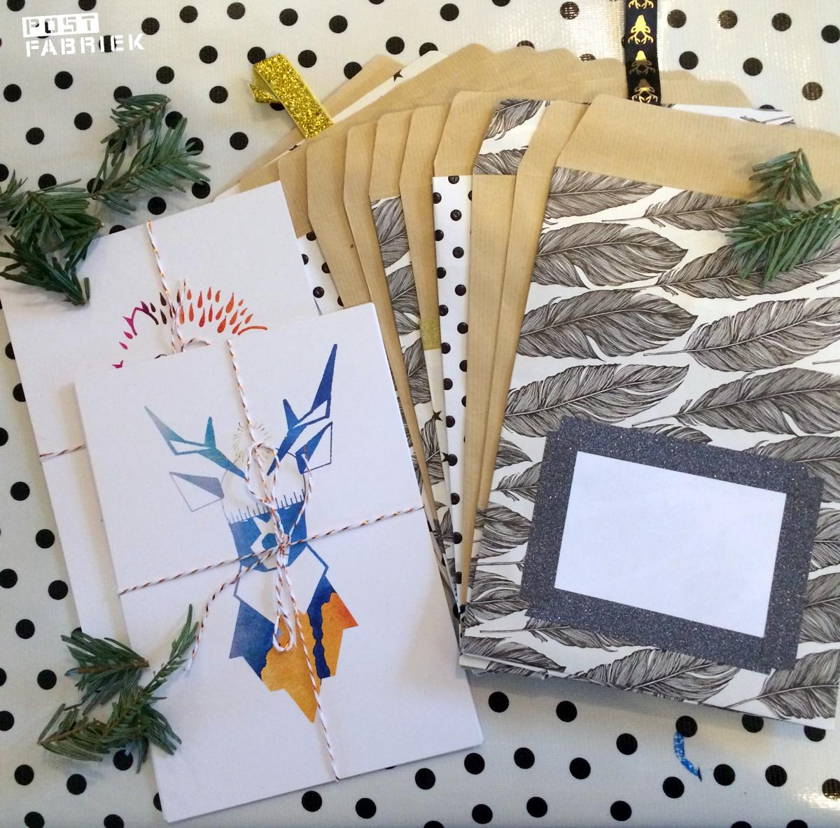 Kerstkaarten van Studio Sarie